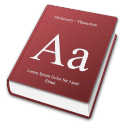 Dictionary icons, free icons in Mac 3D, (Icon Search Engine)