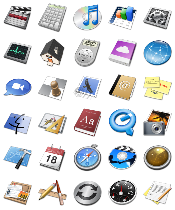 Mac 3d 30 Free Icons Icon Search Engine