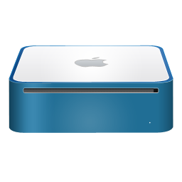 mac,mini,finshed,blue