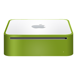 mac,mini,finshed,green