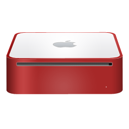mac,mini,finshed,red
