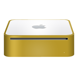 mac,mini,finshed,yellow