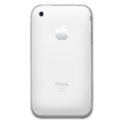 Iphone White 256px Icon Png Ico Or Icns Free Vector Icons