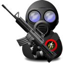 gas,soldier,with,weapon