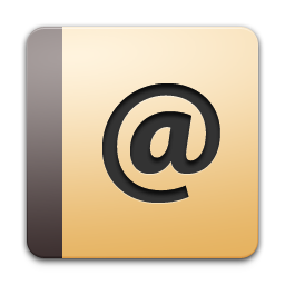 Apple Address Book Icon Png Ico Or Icns Free Vector Icons