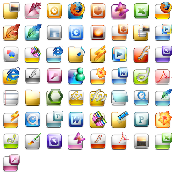 Windows Icons V1 Icon Pack by