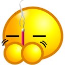 burn,joss,stick,avatar,emoticom,face
