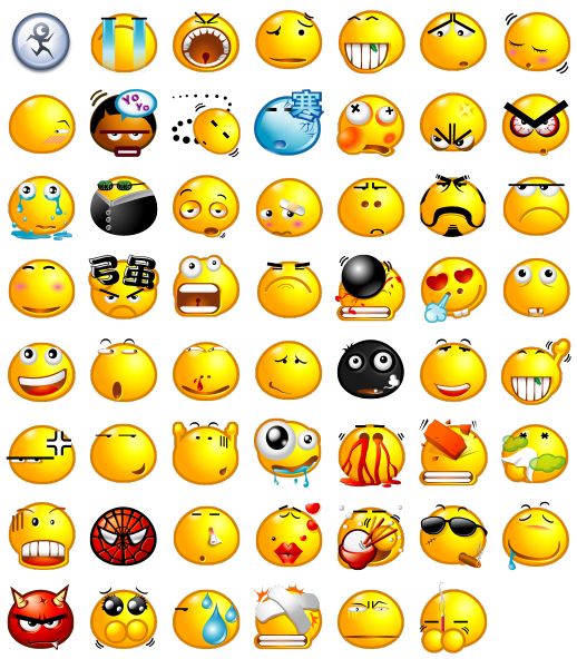 Popo Emotions Icon Pack by Rokey