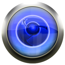 Classic Blue Google Chrome Icon Png Ico Or Icns Free Vector Icons