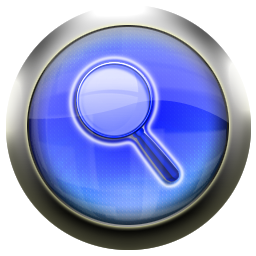 blue,magnifying,glass