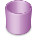 trash,purple,empty,blank,recycle bin
