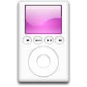 ipod,magenta,mp3 player