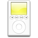 ipod,yellow,mp3 player