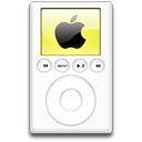 ipod,yellow,alternative,mp3 player
