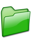 closed,folder,green