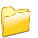closed,folder,yellow