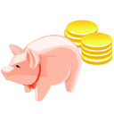 money,pig,luck,cash,currency,coin