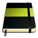 moleskine,green,journal,notebook