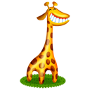 giraffe,animal,cartoon