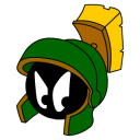 marvin,martian,angry