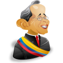 alvaro,uribe,man,cartoon,leader,account,male,person,people,profile,human,member,user