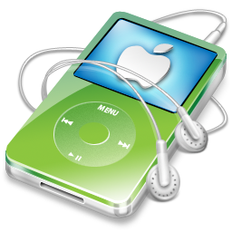 ipod,video,green,apple
