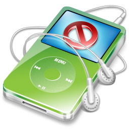 ipod,video,green,no,disconnect,close,cancel,stop