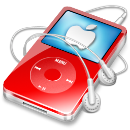 ipod,video,red,apple