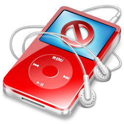 ipod,video,red,no,disconnect,close,cancel,stop