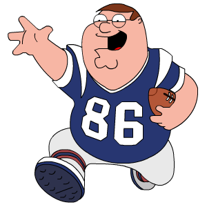 Peter Griffin Football icons, free icons in Peter Griffin ...