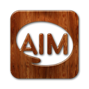 aim,logo,square