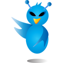 alienbird,alien,bird,twitter,animal,social network,social,sn