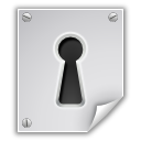 application,pgp,encrypted,file,key hole,lock,paper,document,locked,security