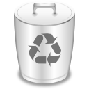 trashcan,empty,alt,recycle bin,blank,trash