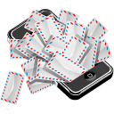 apple,iphone,mail,mobile phone,cell phone,envelop,message,email,letter,smartphone