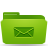 folder,green,mail,envelop,message,email,letter