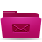 folder,pink,mail,envelop,message,email,letter