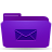 folder,violet,mail,envelop,message,email,letter