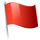 flag,red