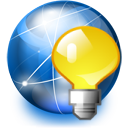jabber,serv,serv on,internet,light bulb,network
