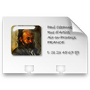 vcard,business card,profile