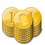 gold,coin,stacks