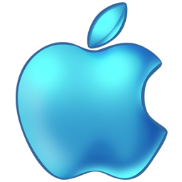 apple,blue