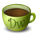 coffee,dreamweaver