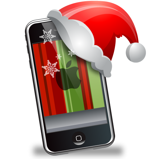 iphone,christmas,xmas,mobile phone,cell phone,smartphone