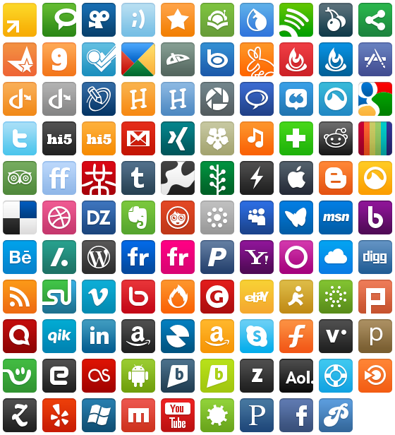 Wpzoom social networking icon icon pack by wpzoom com