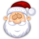 sleeping,santa claus