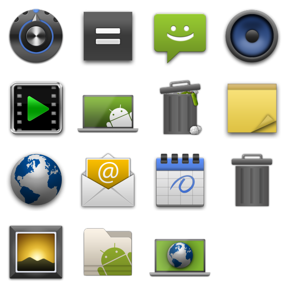 Android Style Icons R1: www.eco-blog.com.ar/do-it-yourself/megapost-icons.html