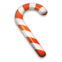 Candy Cane icons, free icons in The Real Christmas 05 ...