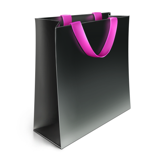 big_bag_pink icons, free icons in Shopping Bag, (Icon ...